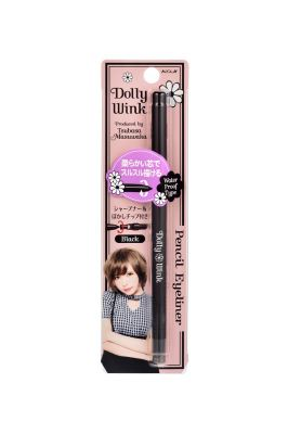 KOJI Dolly Wink Long Keep Pencil Eyeliner (Black)