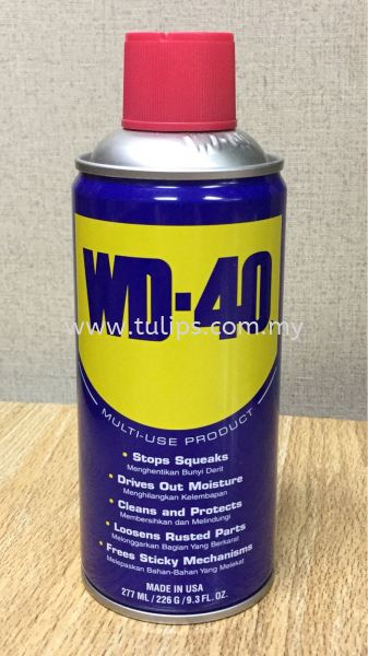 WD-40 Multipurpose Spray (277ml) Chemical Penang, Malaysia, Penang Street Supplier, Suppliers, Supply, Supplies | Chew Kok Huat & Son Sdn Bhd