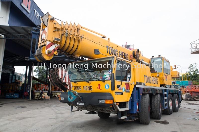 80 Tonnes Mobile Crane Johor Bahru (JB), Masai, Malaysia Rental, For Rent, Supplier, Supply   TH Tong Heng Machinery Sdn Bhd
