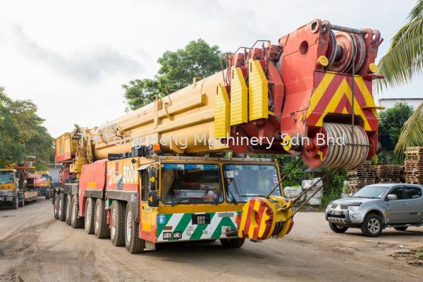 500 Tonnes Mobile Crane Johor Bahru (JB), Masai, Malaysia Rental, For Rent, Supplier, Supply | TH Tong Heng Machinery Sdn Bhd