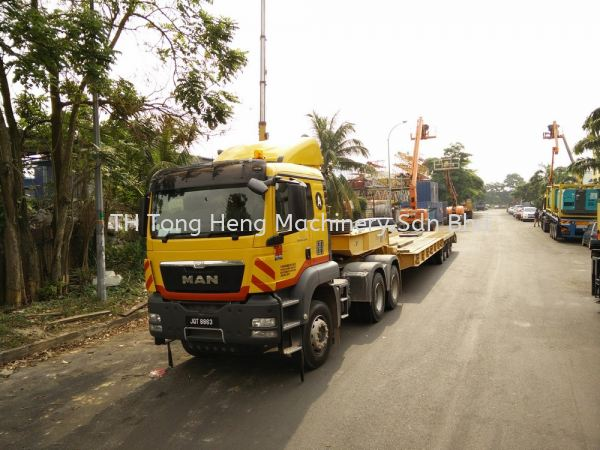 Trailer Johor Bahru (JB), Masai, Malaysia Rental, For Rent, Supplier, Supply | TH Tong Heng Machinery Sdn Bhd
