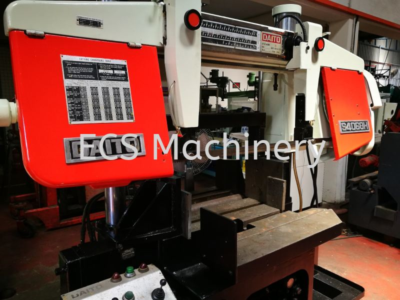 DAITO S4060 BANDSAW Bandsaw Machine Johor Bahru (JB), Malaysia, Mount Austin Used, Reconditioned, Supplier, Supply | ECS Machinery Service
