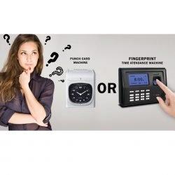 Fingerprint vs punchcard