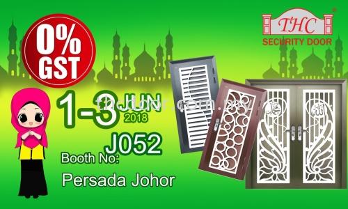 Exhibition at Persada Johor on 1-3 Junl 2018 (MEGA���ȣϣͣ� Exhibition)