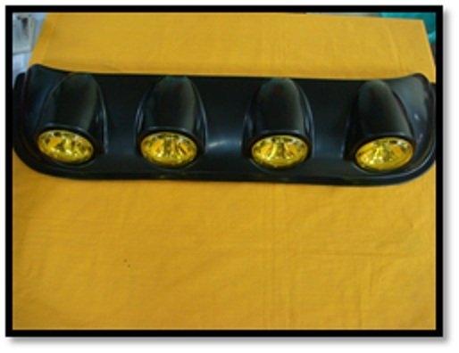 Car Roof Top (CIRCLE) (YELLOW) (S/N:000347) Fog Lamp / Spotlight Automotive Lightning JB Johor Bahru Malaysia Supply Suppliers  | C & C Auto Supplies (M) Sdn. Bhd.