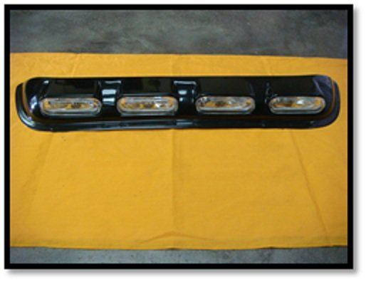 Car Roof Top (OVAL) (YELLOW) (S/N:000648) Fog Lamp / Spotlight Automotive Lightning JB Johor Bahru Malaysia Supply Suppliers  | C & C Auto Supplies (M) Sdn. Bhd.