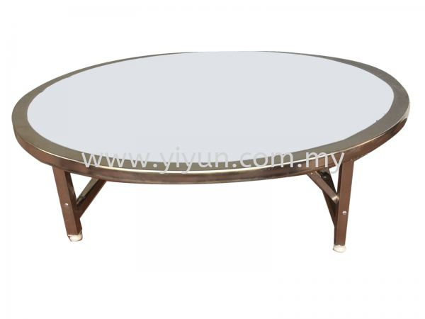 Foldable Round Swing Coffee Table Table  桌子 Penang, Butterworth Supplier, Suppliers, Supply, Supplies | Yi Yun Enterprise