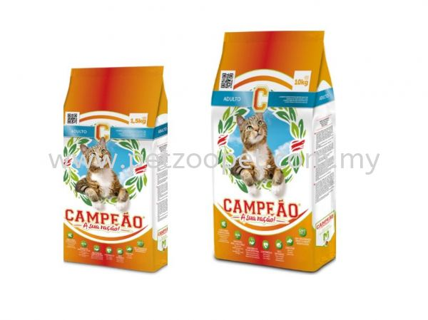 Campeao Adult Cat with Tuna & Chicken Campeao Cat Food  Pet Food Malaysia, Selangor, Kuala Lumpur (KL), Shah Alam Supplier, Wholesaler, Exporter, Supply | Starcage Pet Products Sdn Bhd
