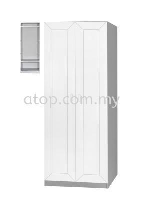 Wardrobe 2 Door WD223-2 (WH)