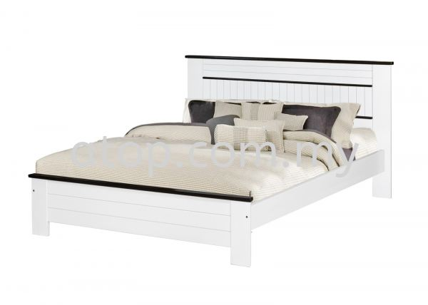 CS 1515 (WHW) 5 ft Bed Frame  CS SERIES Queen Size Bed Frame (5ft) Malaysia, Selangor, Kuala Lumpur (KL), Rawang Manufacturer, Maker, Supplier, Supply | Atop Trading Sdn Bhd