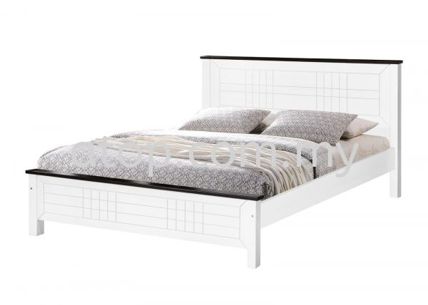 CS 1503 (WHW) 5 ft Bed Frame  CS SERIES Queen Size Bed Frame (5ft) Malaysia, Selangor, Kuala Lumpur (KL), Rawang Manufacturer, Maker, Supplier, Supply | Atop Trading Sdn Bhd
