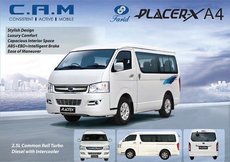 PLACER A4  2.5L DIESEL TURBO 11 Seater Van   VAN COMMERCIAL Kuala Lumpur (KL), Malaysia, Selangor Supplier, Suppliers, Supply, Supplies | Mobile Life Automobil Sdn Bhd
