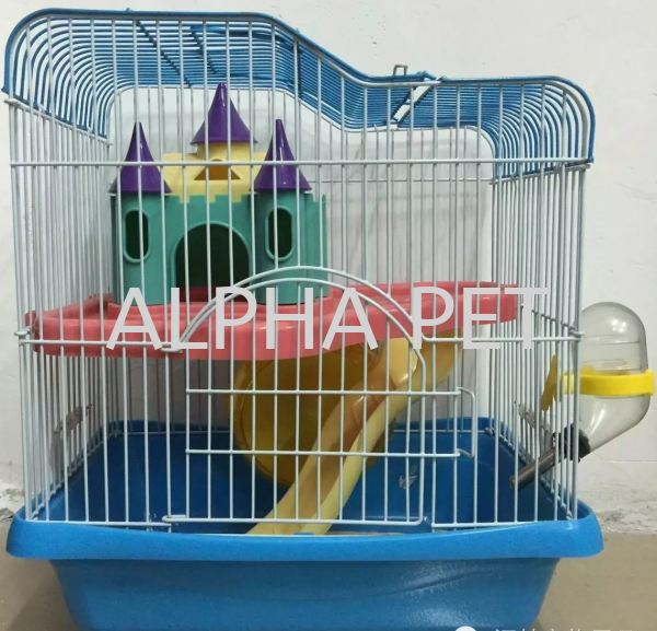 Hamster Cages YDA102 Hamster Cages Alpha Small Animal Products Melaka, Malaysia, Telok Emas Wholesaler, Supplier, Supply, Supplies | Alpha Pet Trading Sdn Bhd