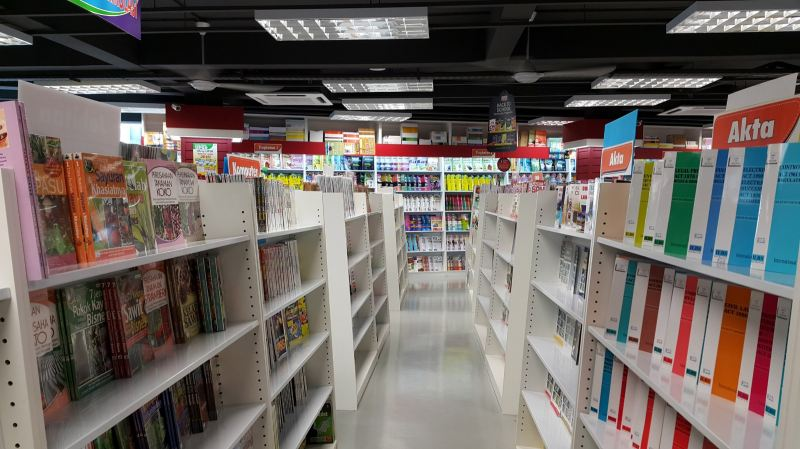 Bookshop Bookshop Commercial Project Penang, Malaysia, Butterworth Design, Renovation, Contractor, Services | Cozi Design Sdn Bhd