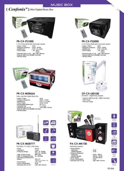 Radio & Music Box Radio & Music Box Penang, Malaysia, Butterworth Distributor, Supplier, Supply, Supplies | Perniagaan Elektronik Guan Seng Hing