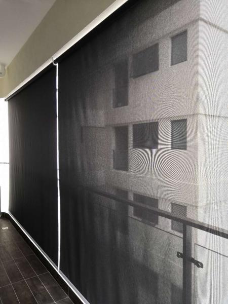 Balcony Outdoor Roller Blind   Supplier, Suppliers, Supplies, Supply   Kim Curtain Design Sdn Bhd
