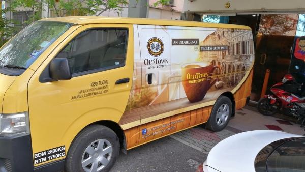 Van Wrapping Sticker Vehicle Wrapping Seri Kembangan, Selangor, Kuala Lumpur, KL, Malaysia. Service, Supplier, Supplies, Supply | Color Dot Com Sdn Bhd