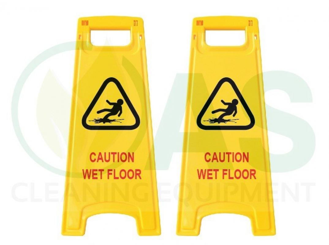 Floor Signage Board (Caution Wet Floor)