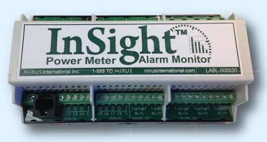 InSight™ Power Meter & Alarm Monitor InSight Power Meter Power Meters & Monitors Malaysia, Selangor, Kuala Lumpur (KL), Subang Jaya Supplier, Supply, Distributor   UTC Engineering Sdn Bhd