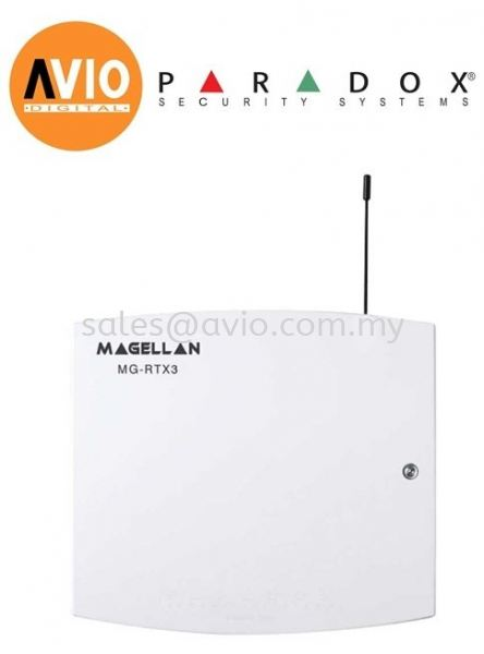 Paradox Magellan RTX3 Alarm Wireless Expansion Module Alarm Accessories ALARM SYSTEM Johor Bahru (JB), Kempas Supplier, Suppliers, Supply, Supplies | Avio Digital