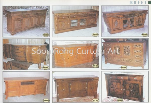 Bufet 柚木家具   Supplier, Supply, Wholesaler, Retailer | Soon Rong Curtain Art
