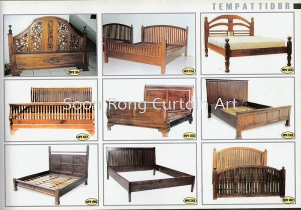 Tempat Tidur 柚木家具   Supplier, Supply, Wholesaler, Retailer | Soon Rong Curtain Art