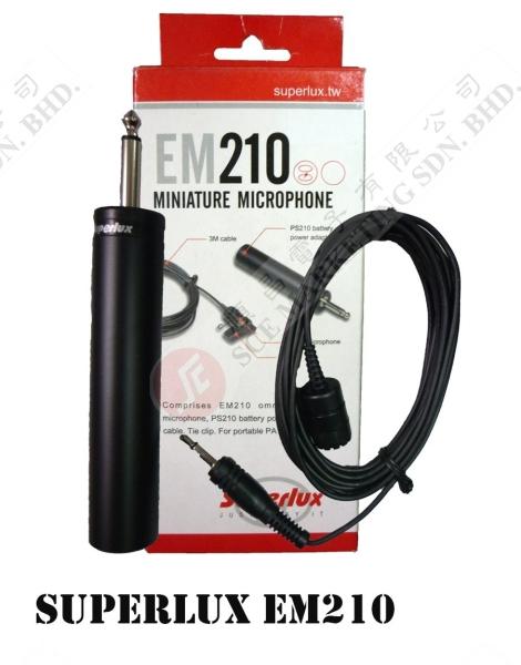 CLIP MIC EM-210 CLIP MIC MICROPHONE Johor Bahru, JB, Johor. Supplier, Suppliers, Supplies, Supply | SCE Marketing Sdn Bhd