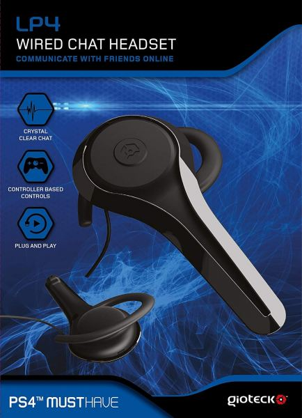 Gioteck LP4 Wired Chat Headset Accessories PS4 Selangor, Malaysia, Kuala Lumpur (KL), Petaling Jaya (PJ) Supplier, Suppliers, Supply, Supplies | Gaming Gadgets Sdn Bhd