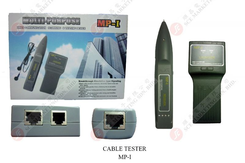CABLE TESTER MP-1 CABLE TESTER  MULTIMETER Johor Bahru, JB, Johor. Supplier, Suppliers, Supplies, Supply | SCE Marketing Sdn Bhd
