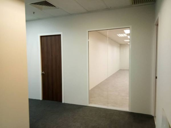 partition wall panel with tempered glass door Partition Wall Panel Kuala Lumpur (KL), Cheras, Selangor, Malaysia Contractor, Supplier, Supply, Supplies | SV Interior Sdn Bhd