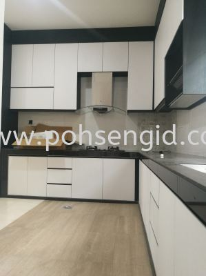 Solid Ply Laminate Kitchen Cabinet #BAHAU CHENGKAU