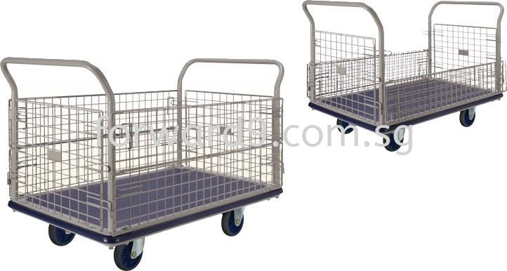 Prestar NG-407-6 Side Net Trolley Trolley Ladder / Trucks / Trolley Material Handling Equipment Singapore Supplier, Manufacturer, Supply, Supplies | Forward Solution Engineering Pte Ltd