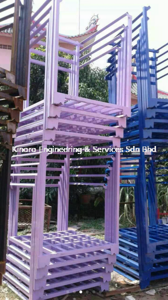 Pallet Tainer Pallet Tainer / Nestainer Rack Malaysia, Selangor, Kuala Lumpur (KL), Klang Supplier, Suppliers, Supply, Supplies | Kinoro Engineering & Services Sdn Bhd
