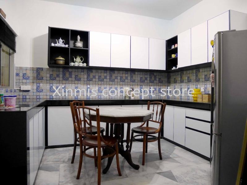 Kitchen cabinet - Damansara Utama U-Shape kitchen design Aluminium kitchen cabinet Selangor, Malaysia, Melaka, Kuala Lumpur (KL), Petaling Jaya (PJ), Malim Jaya Supplier, Supply, Design, Services | XINMIS CONCEPT STORE