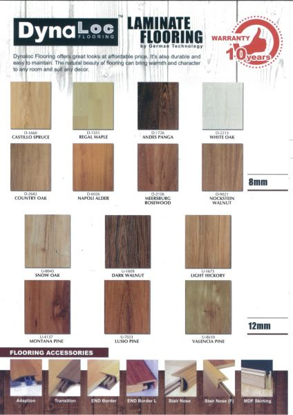 Laminate Flooring Catalogue Wood Flooring 12mm ( with V-Groove ) Laminate Flooring Puchong, Selangor, Malaysia Supplier, Suppliers, Supplies, Supply | Dynaloc Sdn Bhd