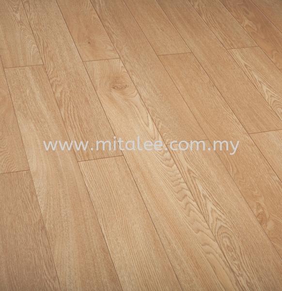 O122 Lussac Oak S D Sleek Collection 12.0mm (SG) ROBINA LAMINATE FLOORING Johor Bahru (JB), Malaysia, Kuala Lumpur (KL), Selangor, Melaka Supplier, Supply | Mitalee Carpet & Furnishing Sdn Bhd
