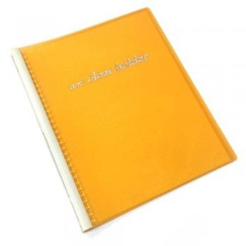 Clear Holder PVC File 359A A4 Size 32 Holes - Orange Clear Holder Document Holder, Box & Case Organize Malaysia, Kuala Lumpur (KL), Selangor Supplier, Suppliers, Supply, Supplies | Leng & Weng Trading