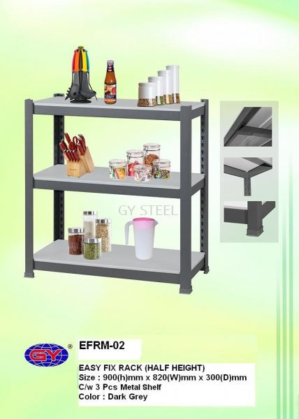 EASY FIX RACK  HOME RACKING  Malaysia, Selangor, Kuala Lumpur (KL), Rawang Manufacturer, Supplier, Supply, Supplies | GY Steel Furniture Sdn Bhd