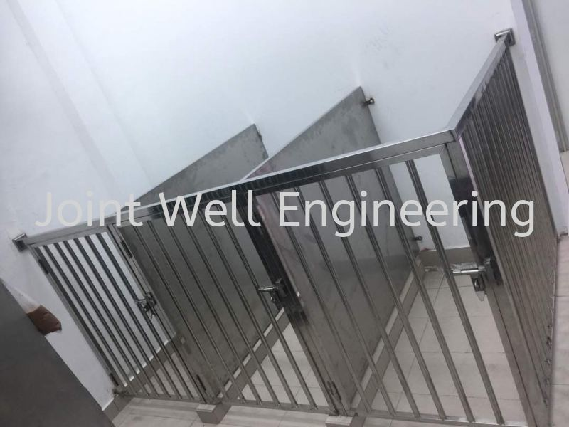 Stainless Steel Dog Cage Pet Cage Johor Bahru (JB), Johor Installation, Supplier, Supplies, Supply   Joint Well Engineering