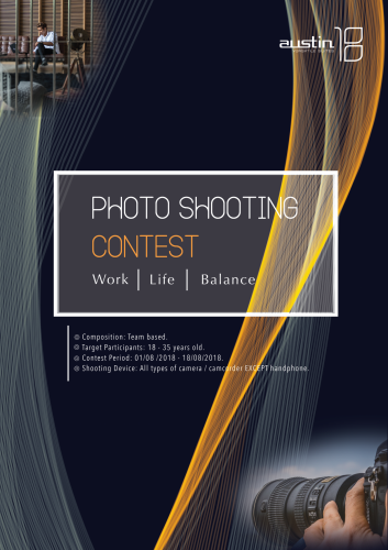 PHOTOSHOOTING CONTEST - WORK LIFE BALANCE