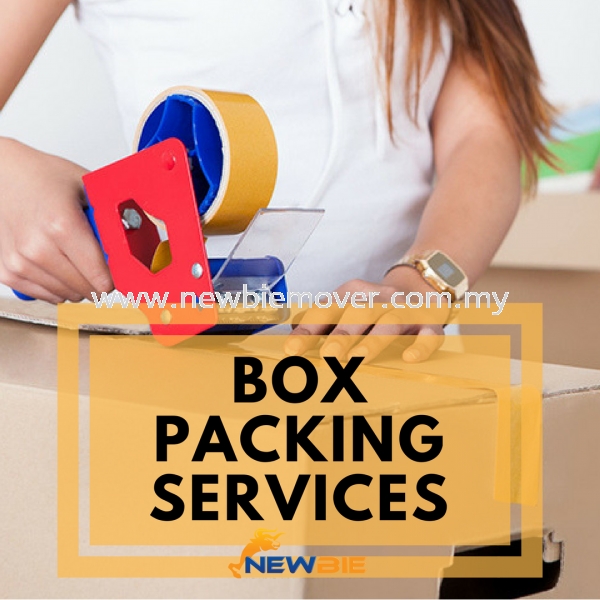 Packing Services Box Supply & Packing Services Kuala Lumpur (KL), Selangor, Malaysia Service | Newbie Mover