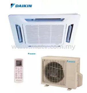 Daikin FC30A2  R30CV 3.0hp Ceiling Cassette Type Air Conditioner 30000Btu R22 Inverter Daikin Ceiling Cassette  Airconditioner Johor Bahru, JB, Johor, Pasir Gudang. Johor Bahru JB Astro, Antenna, Aerial TV | MATV Sales & Services Sdn.Bhd.