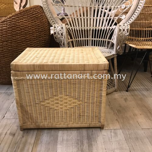 RATTAN MULTI USE STORAGE BASKET