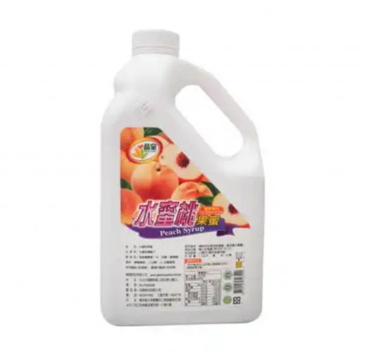 PEACH CONCENTRATE SYRUP 2.5KG