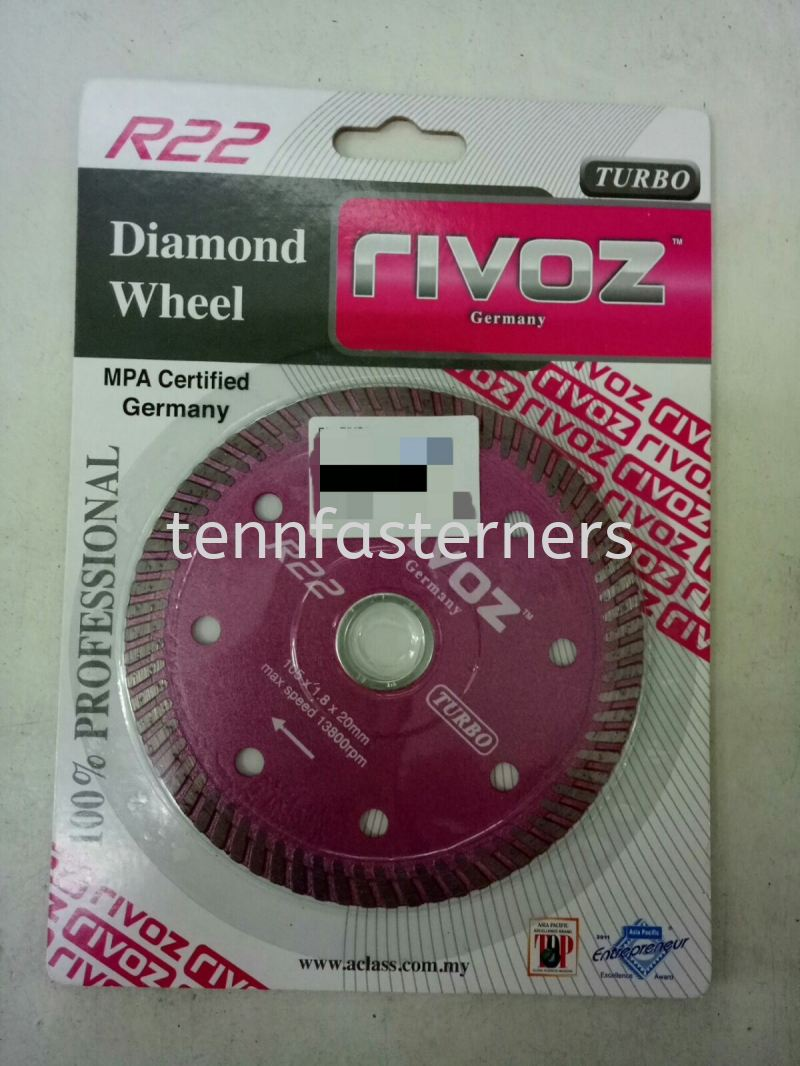 R22 RIVOZ DIAMOND CUTTER