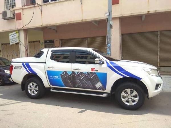 Van Wrapping Sticker Vehicle Wrapping Seri Kembangan, Selangor, Kuala Lumpur, KL, Malaysia. Service, Supplier, Supplies, Supply   Color Dot Com Sdn Bhd