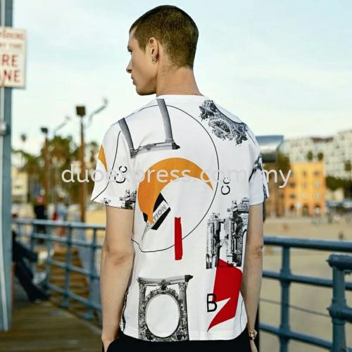 Roundneck T shirt printing ideas