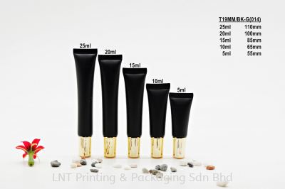 T19MM BLACK SOFT TUBE + LONG GOLD CAP