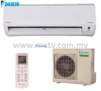 Daikin 2.5hp FTN25P & RN25C Eco King Wall Mounted Air Conditioner (R410A) - P serial - Non Inverter 2.5HP Daikin Airconditioner Johor Bahru, JB, Johor, Pasir Gudang. Johor Bahru JB Astro, Antenna, Aerial TV | MATV Sales & Services Sdn.Bhd.