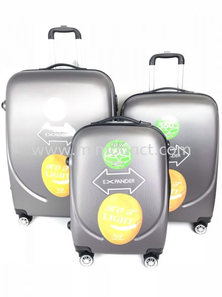 ABS360 3IN1 Hardcase Luggage Luggage Bag Current Bags Series Malaysia, Selangor, Kuala Lumpur (KL), Shah Alam Wholesaler, Manufacturer, Supplier, Supply | Mimoo Act Sdn Bhd